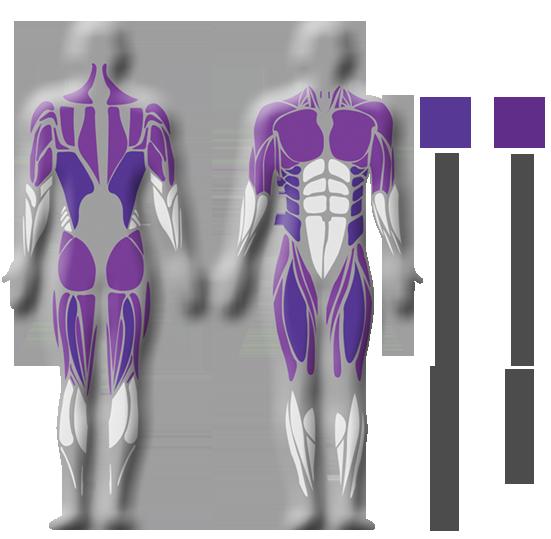 figur höft och bröstrotation
